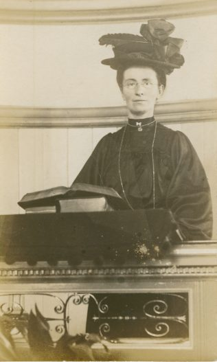 Staffordshire Primitive Methodist woman preacher | Englesea Brook Museum picture and postcard collection