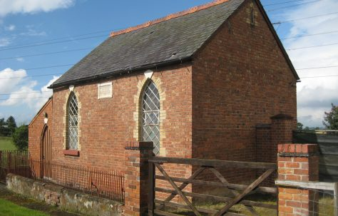 Stanwardine in the Fields PM Chapel Shropshire