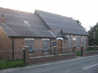 Wingate Station Town (Millbank Terrace) Primitive Methodist Chapel Co. Durham