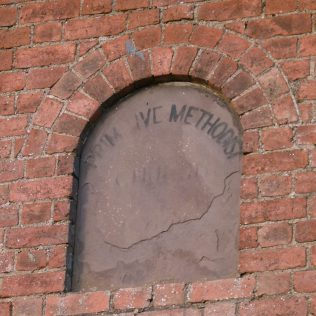 Staunton-on-Wye PM Chapel wall plaque | R Beck