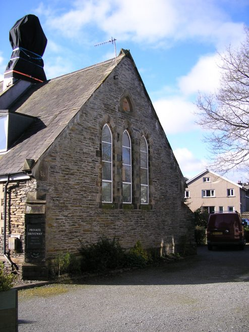 Staveley, Main Road PM chapel, north end 16 April 2016 | G W Oxley