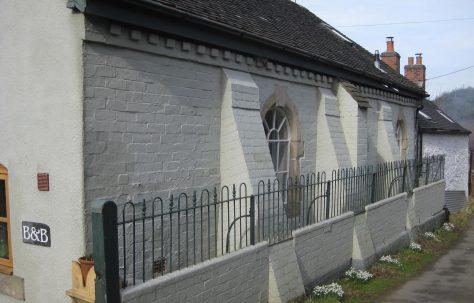 Stiperstones P M Chapel Shropshire.