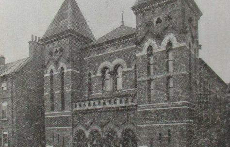 Stockton Paradise Row Primitive Methodist chapel