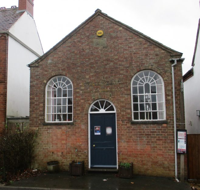 first Stoke Golding Primitive Methodist chapel | Christopher Hill January 2018