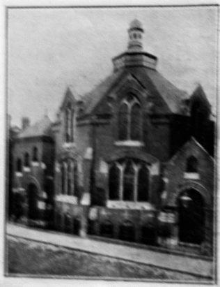Stoke Newington Primitive Methodist chapel | Handbook of the Primitive Methodist Conference 1908; Englesea Brook Museum