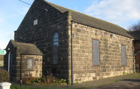 Stoke-on-Trent Baddeley Edge Primitive Methodist Chapel Staffordshire