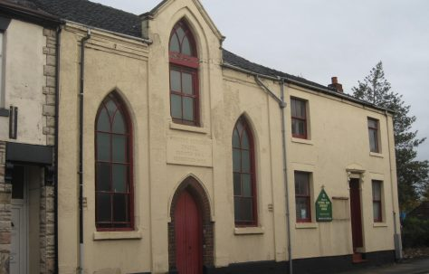 Fenton Primitive Methodist Chapel Victoria Road City of Stoke-on-Trent Staffordshire