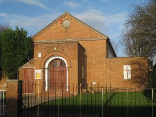 Stoke-on-Trent Sandford Hill (Clewlow Place) Primitive Methodist Chapel Staffordshire