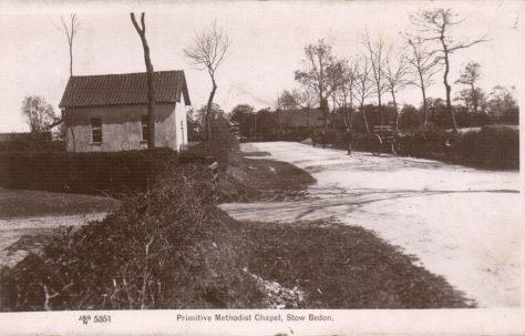Stow Bedon Primitive Methodist chapel