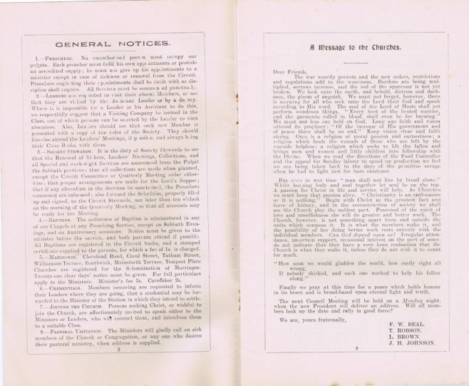 pages 2 & 3 | Englesea Brook Museum