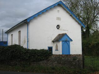 Second chapel built in 1859