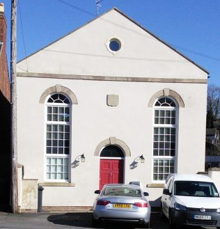 Swannington Primitive Methodist chapel from the front | Christopher Hill 2016