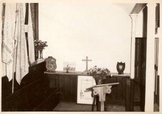Inside Swan Street Church