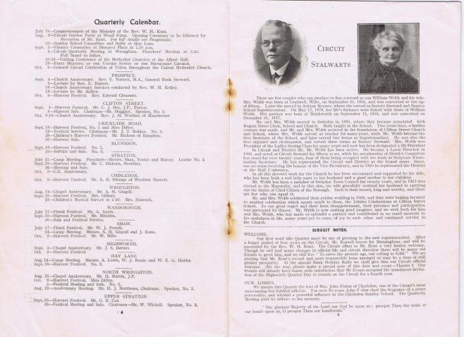 pages 4 & 5 | Englesea Brook Museum