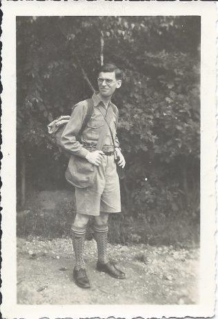 Sydney Markham - Scout Leader