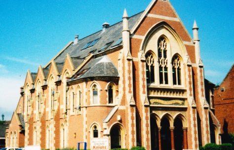 Norwich; Scott Memorial Primitive Methodist Church