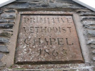 Photo No.2 Plaque of 1865 chapel | Elaine and Richard Pearce