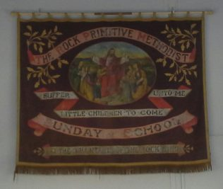 This banner is still on display in the School Room which is the original chapel