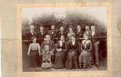 Thomas Sherratt Alcock and family