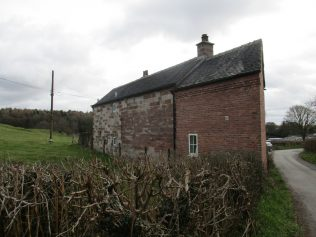 rear of Chapel House Threapwood Head; oldest part furthest from the road | Christopher Hill 2018
