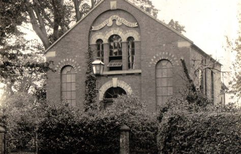 Tiverton Primitive Methodist Church, Cheshire
