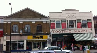 Tooting Defoe chapel and market | Christopher Hill