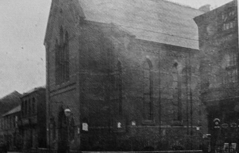 Derby Traffic Street Primitive Methodist chapel
