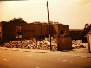 Trinity (demolition of garage next door)