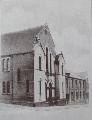Tunstall Pittshill Primitive Methodist chapel | Handbook of the Primitive Methodist Conference 1929; Englesea Brook Museum