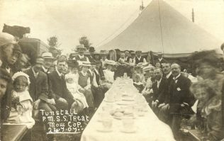 Tunstall Sunday School Outing to Mow Cop, 1907