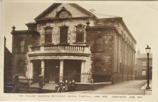 Tunstall Jubilee Primitive Methodist chapel | Englesea Brook picture and postcard collection