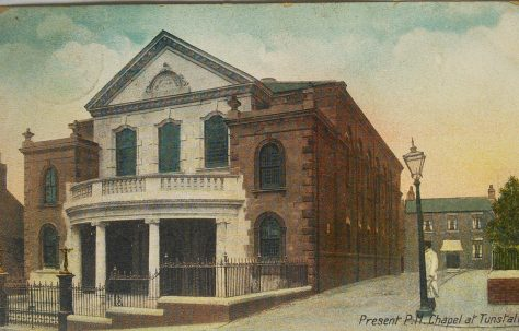 Tunstall Jubilee Primitive Methodist Chapel, 1905