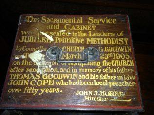 Tunstall Jubilee Primitive Methodist Chapel, 1905