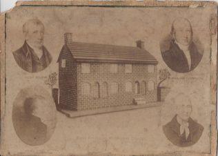 Tunstall First Primitive Methodist Chapel, 1811 | Englesea Brook Museum