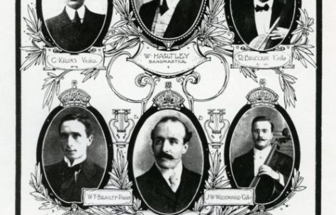 Who were 'Our Lads on the Titanic'?