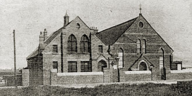 Usworth Colliery PM Chapel c1900 (from newspaper clipping) | Bede Circuit Archive Collections
