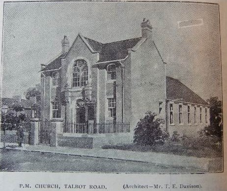 Talbot Road PM South Shields | Bede Methodist Circuit Archives