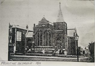Ryde High Street Primitive Methodist chapel | Englesea Brook Museum picture and postcard collection