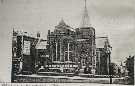 Ryde High Street Primitive Methodist chapel