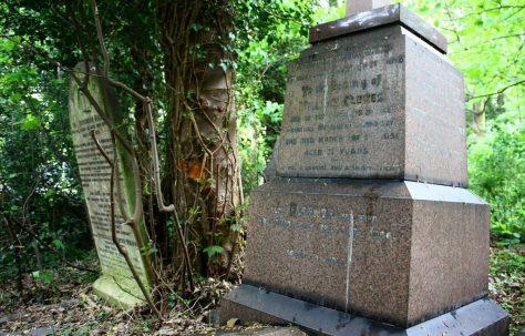 William Clowes Grave