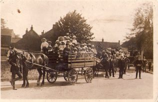 Sunday School anniversary parade circa 1930 | Rev. David Leese