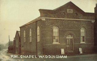 Waddingham Primitive Methodist chapel | postcard belonging to Steven Wild