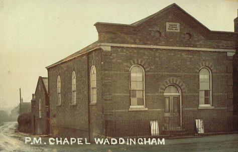 Waddingham Primitive Methodist chapel