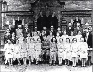 Choir pictured in 1932
