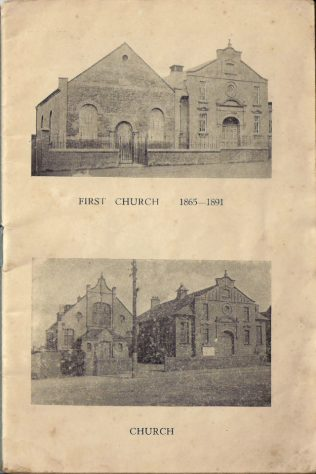 Walsall Wood Primitive chapels, 1865 and 1891