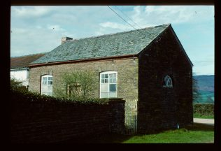 Converted former Walterstone Primitive Methodist chapel photographed in 1992 | David Hill 1992