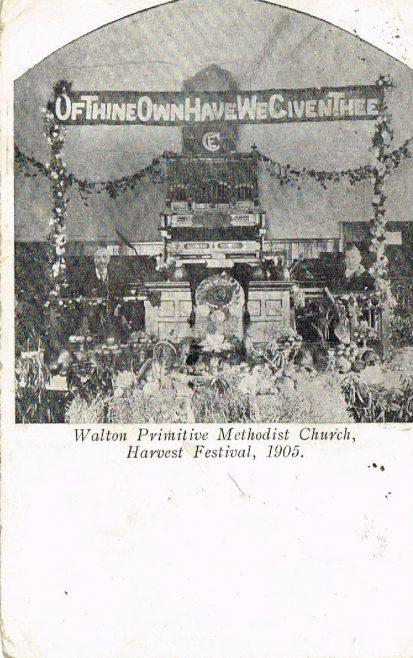 Walton Primitive Methodist Church, Stuart Road, Liverpool | postcard belonging to Steven Wild