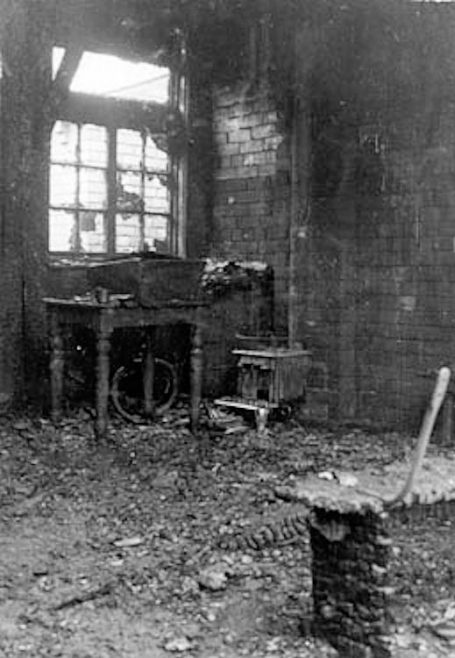 Bomb damage to Wenlock Road PM Chapel, 11 October 1942 | Bede Circuit Archive Collections