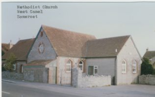 West Camel, Somerset, Methodist chapel | Englesea Brook Museum picture and postcard collection