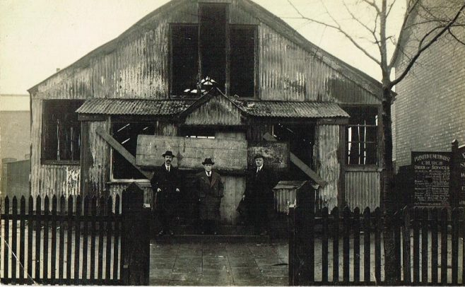 Tin Tabernacle, West Midlands | postcard belonging to Steven Wild